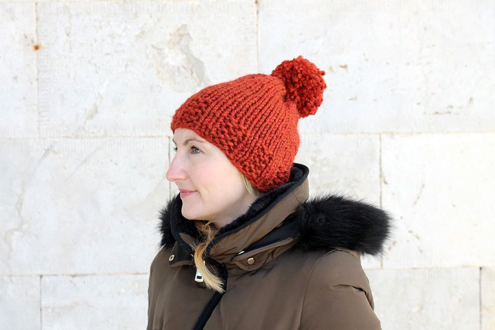The Phaidra Hat Knitting Pattern PDF Download | Handy Little Me
