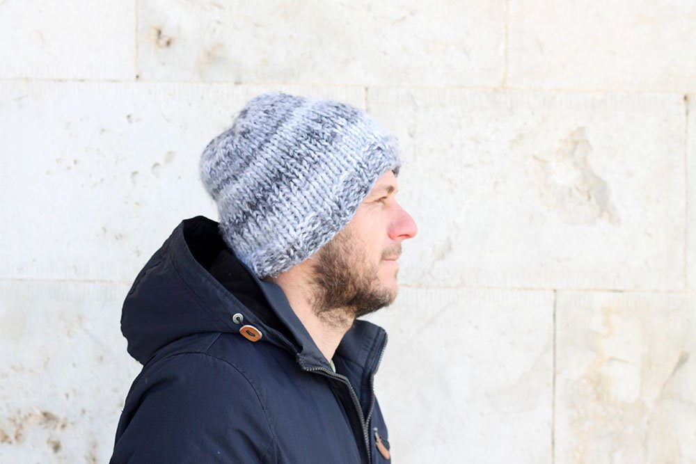 knit hat for men