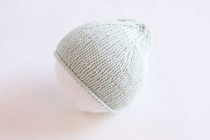 Flat Knit Baby Hat Pattern