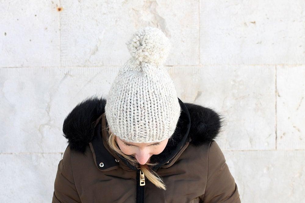 beanie hat knitting pattern