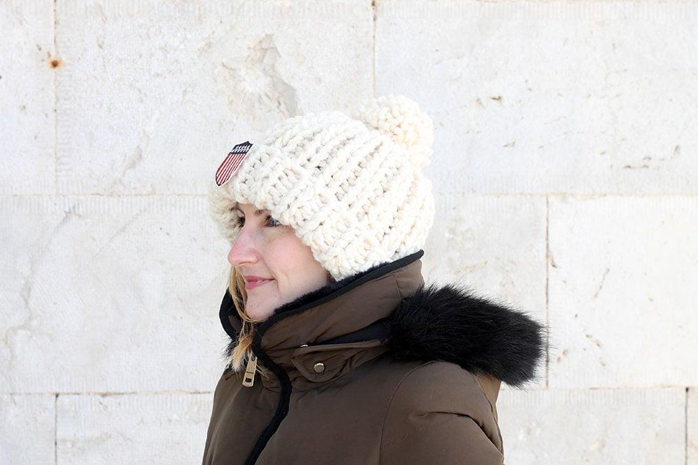 super chunky hat knitting pattern