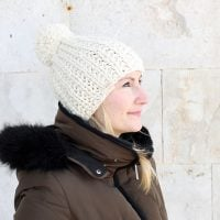 Beanie Hat Pattern | The Aphrodite