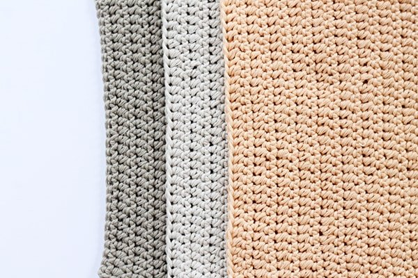 Beginner washcloth crochet pattern