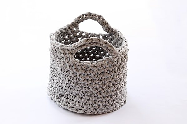 Simple Crochet Basket Free Pattern