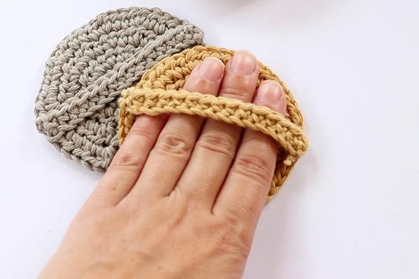 crochet face srubbies pattern