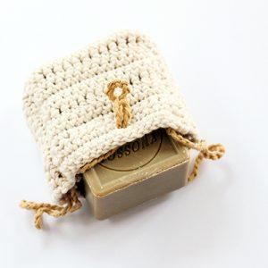 crochet soap sack pattern