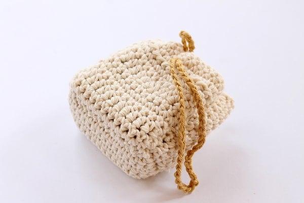 crochet soap sack pattern easy