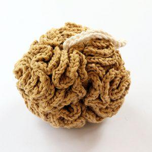 easy crochet shower puff pattern