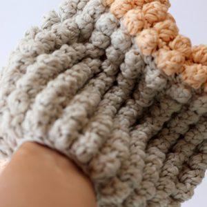 easy+crochet+wash+mitt
