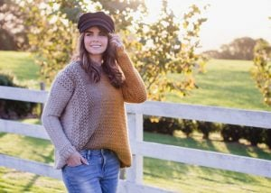 Crochet Kit – Aurora Sweater