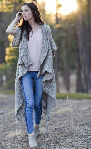 Crochet Kit – Endless Drape Kimono Duster