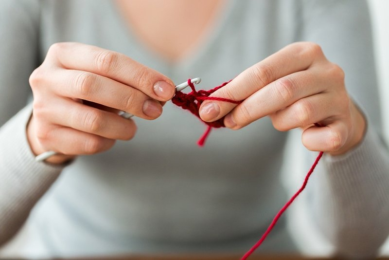 how to double crochet
