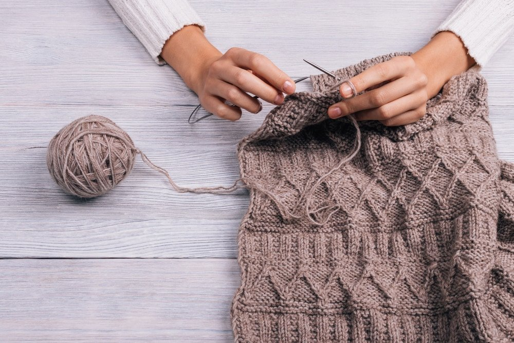 how to knit kfb