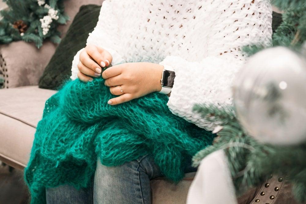 how to knit stockinette stitch