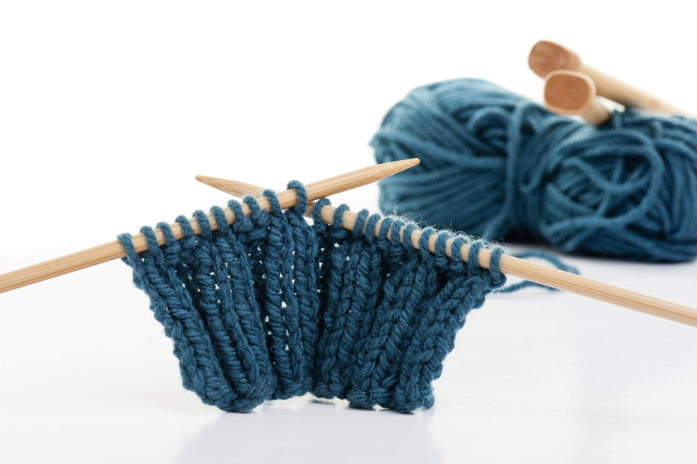 how to knit the rib stitch
