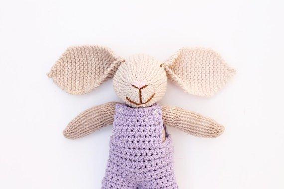 handmade bunny toy