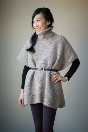 Crochet Kit – Granite Poncho