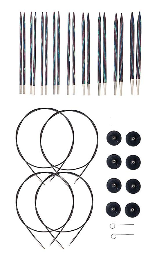Knit Picks Options Foursquare Interchangeable Knitting Needles Set - US 4-11