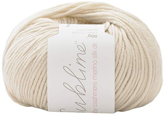 Sublime - Baby Cashmere Merino Silk DK Knitting Yarn - Little Linen (#344)