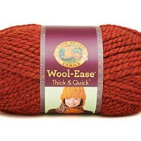 Lion  640-135 Wool-Ease Thick & Quick Yarn , 97 Meters, Spice