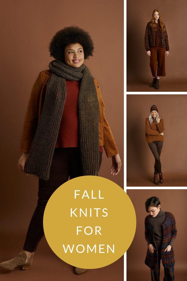 Fall knits for women
