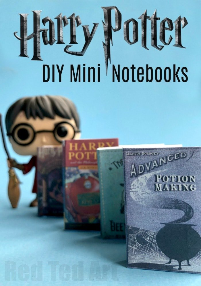 DIY-Harry-Potter-Books