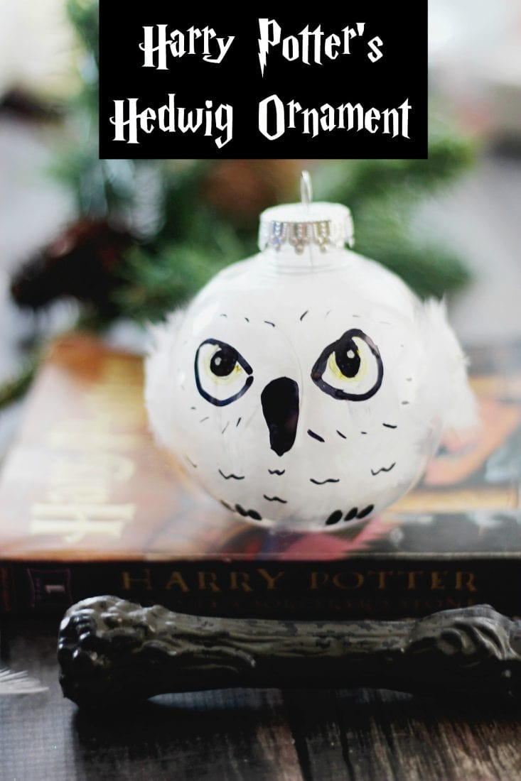 DIY-Harry-Potter-Hedwig-Ornament