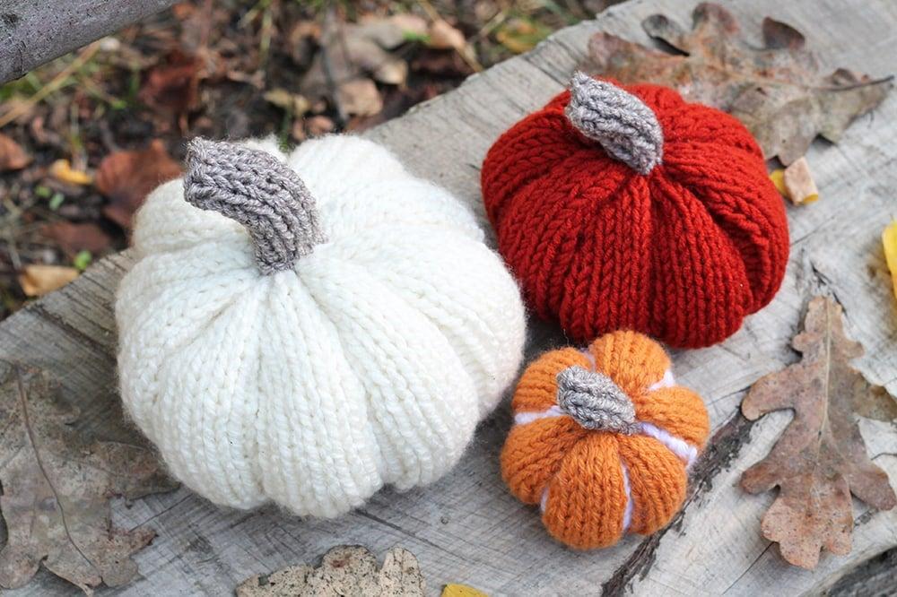DIY easy pumpkins