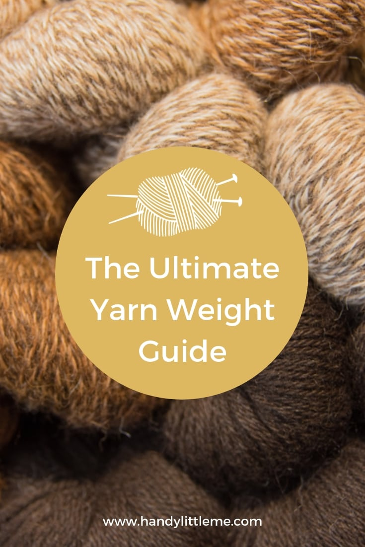 The ultimate yarn weight guide