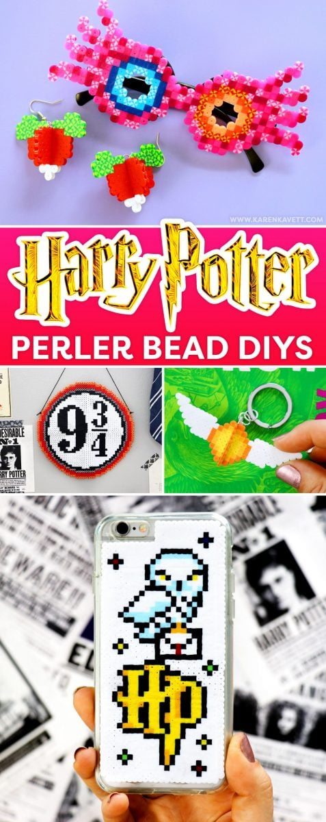 DIY Harry Potter Perler Bead Crafts