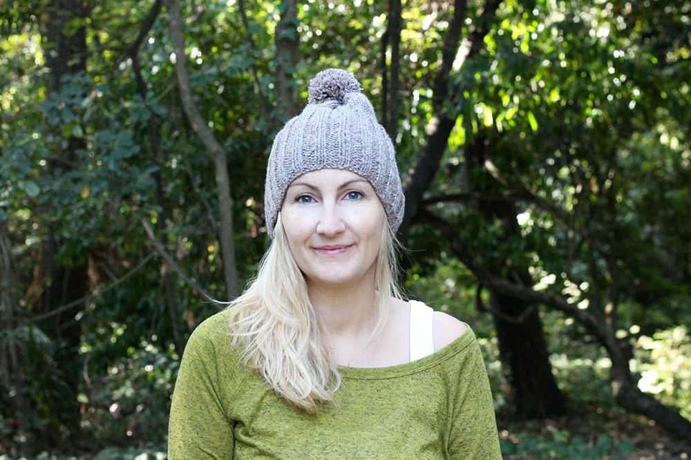 easy beginner beanie hat pattern