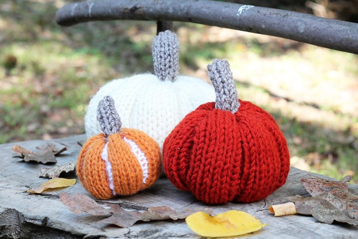 Easy Pumpkin Knitting Patterns