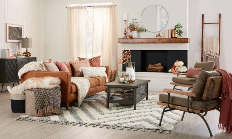 cozy fall home decor