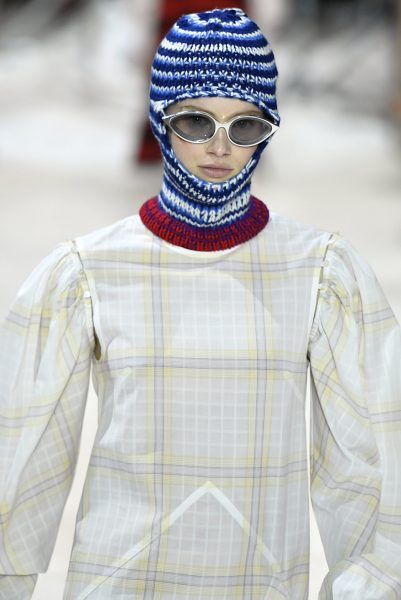 Milan balaclavas on the runway
