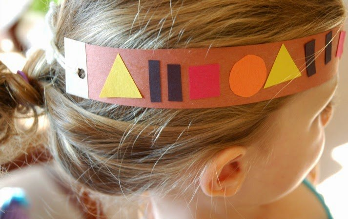 Native American Pattern Headband Craft