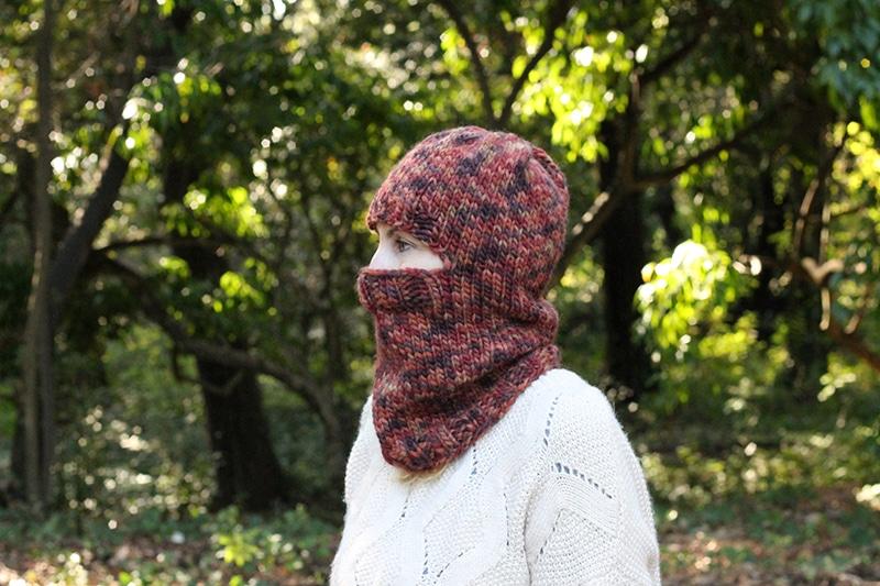 balaclava knitting pattern free