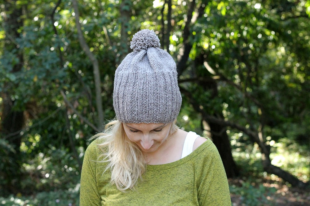 free hat knitting pattern for beginners