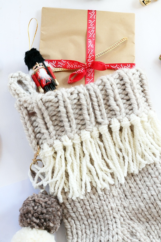 Christmas stocking tassels