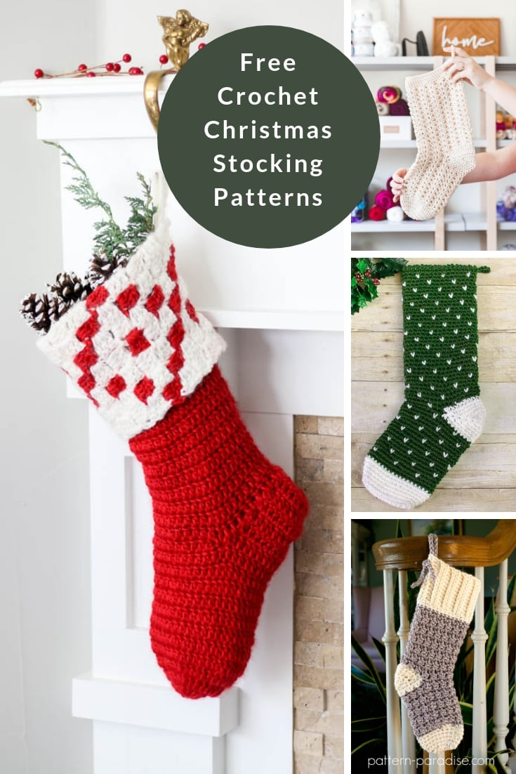 Christmas Stockings - Free Crochet Patterns | Free Knitting Patterns ...
