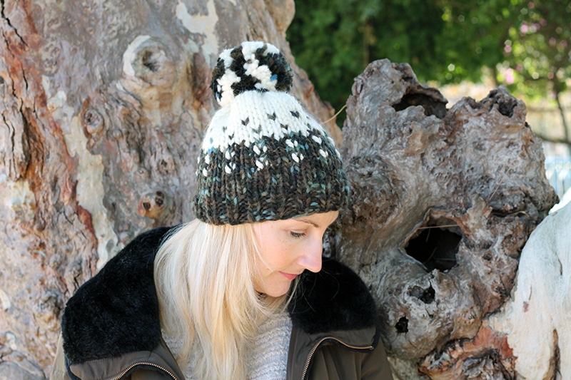 beanie hat knitting pattern free