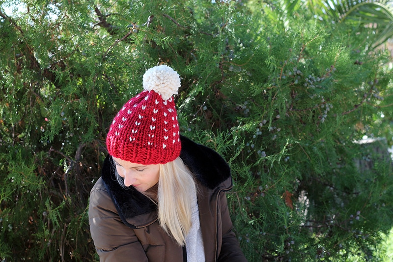 free fair isle hat pattern for beginners