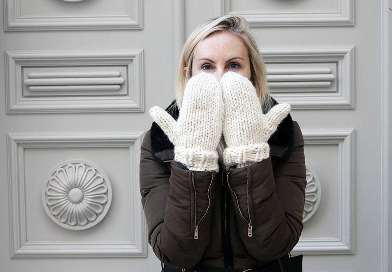 knit mitts pattern