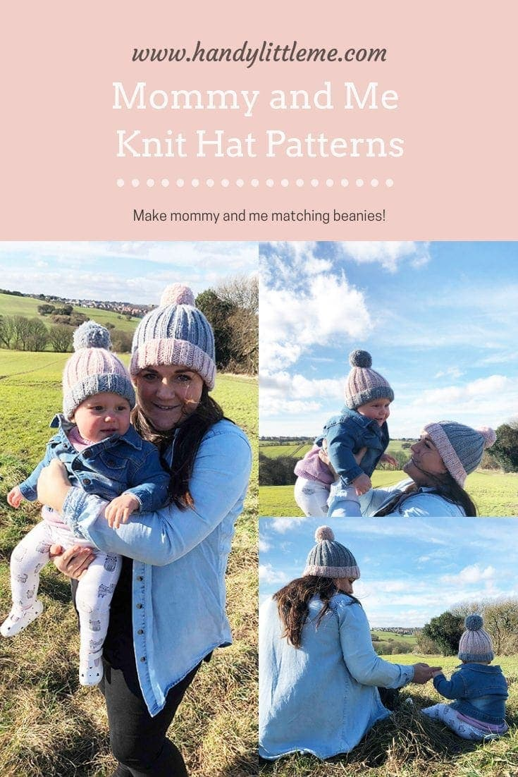Mommy and me outfits daughters - free knitting patterns