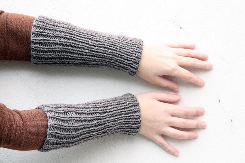 Outlander ribbed cuffs pattern