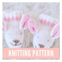 Bunny Slippers Pattern PDF Download