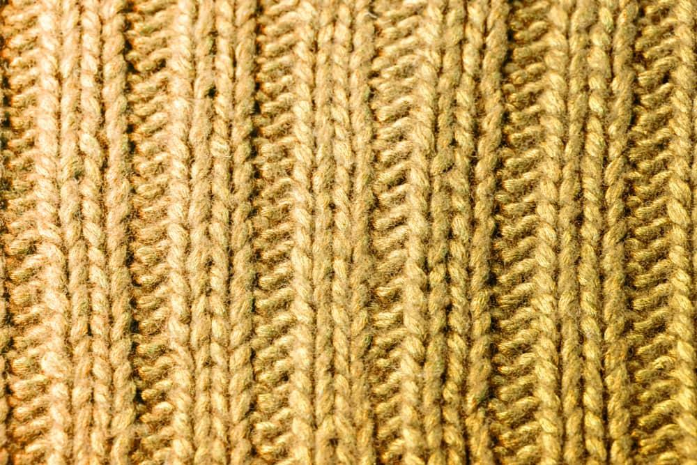 knitting example of ribbing