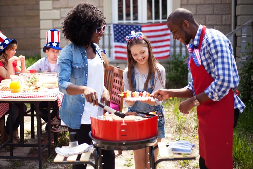 4th of july barbeque