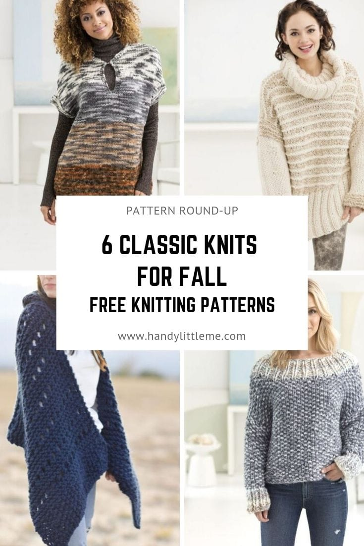 classic knits for your fall closet