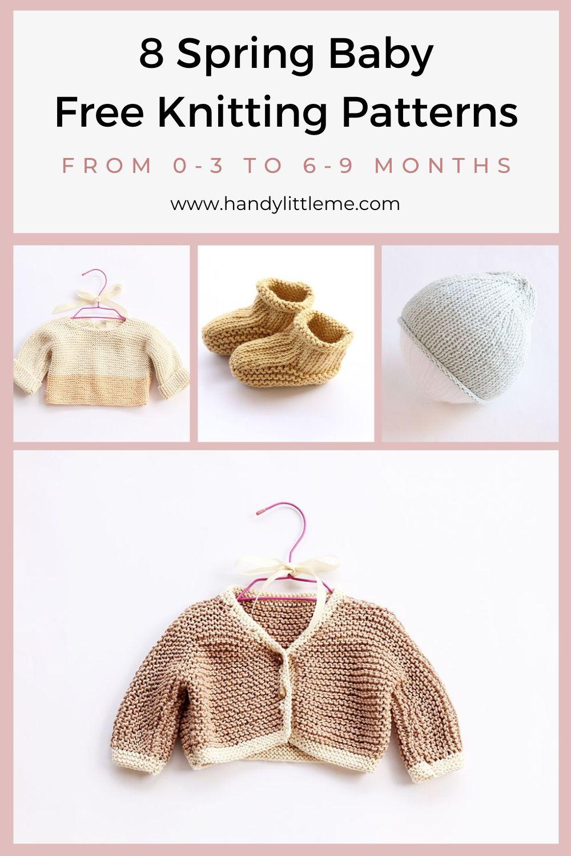 8 Spring baby knitting patterns