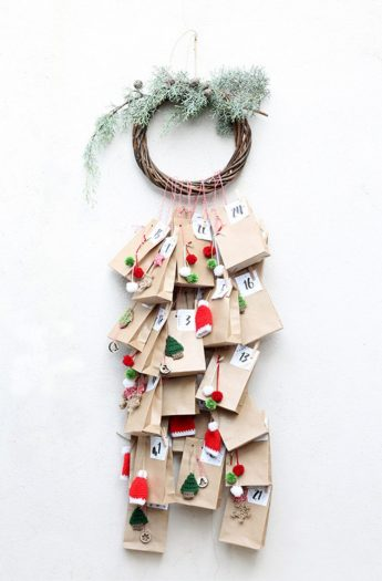 Hanging Advent Calendar DIY